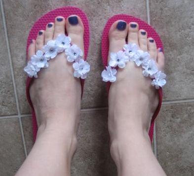 Sandalias para la playa! Hazl@ tu mism@